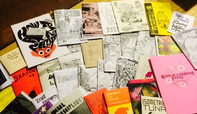 ShortRun '14 Zine Donations